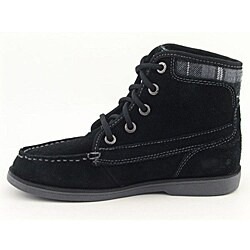 Nautica Boy's Cody Black Boots (Size 5)