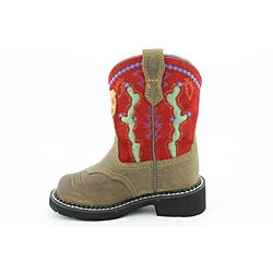 Ariat Boy's Fatbaby Cactus Red Boots