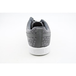 Puma Men's Clyde X Undftd Micro-Dot Gray Casual Shoes