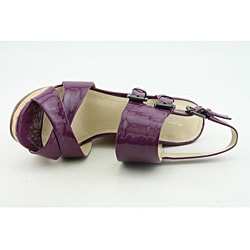 Enzo Angiolini Women's Damiana Purple Sandals