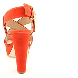 Pour La Victoire Women's Nealla Orange Sandals