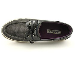Sperry Top Sider Women's Bahama 2 Eye Black Casual Shoes