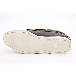 Sperry Top Sider Women's A/O 2 Eye Brown Casual Shoes Wide
