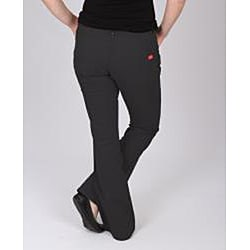 Dickies Women's Black Slim-fit Canvas Bootcut Pant