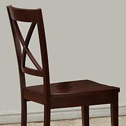 Norfolk X Back Chairs (Set of 2)