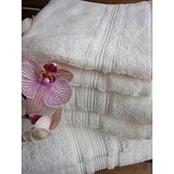 Charisma Ivory Cream Premium Hygro Cotton 12-piece Bath Towel Set