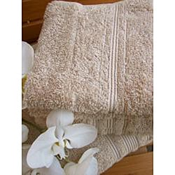 Charisma Linen Beige Premium Hygro Cotton 18-piece Bath Towel Set