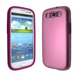 Premium Samsung Galaxy S 3 Aluminum/ Silicone Slim Case