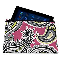 Premium Apple iPad Pink Paisley Cover