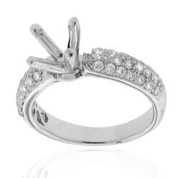 14kt White Gold 1/2ct TDW Diamond Engagment Ring