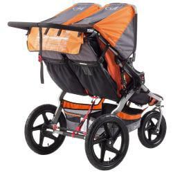 BOB Revolution SE Duallie Stroller in Orange