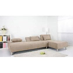 Atlanta Stone Convertible Sectional Sofa Bed
