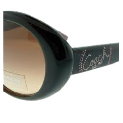Coach Women's 'Lakita' Brown Retro Sunglasses