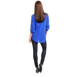 Stanzino Women's Long Sleeve Pleated Top