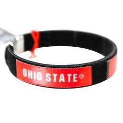 Siskiyou NCAA Ohio State Buckeyes Fan Band Bracelet