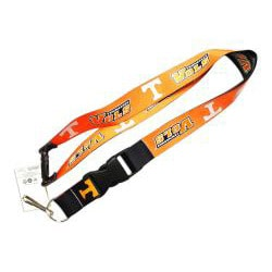 Tennessee Vols Volunteers Reversible Lanyard Keychain Ticket ID Holder