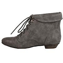 Modesta by Beston Women's 'Tiko-01' Grey Booties