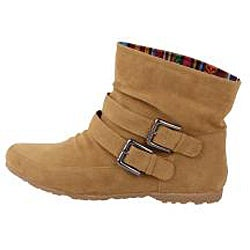 Modesta by Beston Women's 'Toto-01? Mustard Ankle Boots