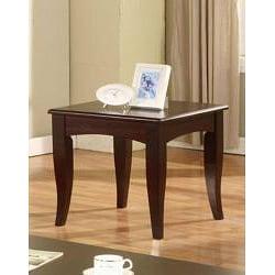 Cappuccino Sofa End Table