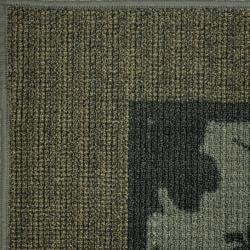 Tufted Sisal Printed Indoor/ Outdoor Grey Renewal Rug (5' x 7')