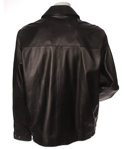 Pronto Uomo Lambskin 3/4 Length Leather Jacket | Mens Outerwear