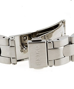 Seiko Women's Tank-style Stainless Steel Watch