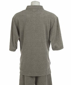 Sean John Men's Terry Cloth Short Set
