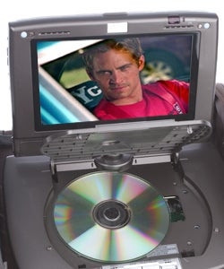 G2G Gear Car DVD-in-a-Bag with Two 7-in. LCDs (Refurbished)