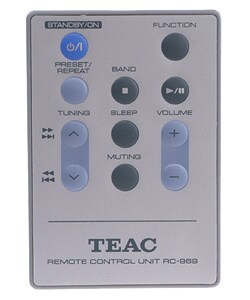 Teac CD-X6 AM/FM CD Stereo System (Refurbished)
