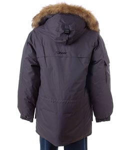 Bear USA Men's Hooded Fur Trim Winter Coat