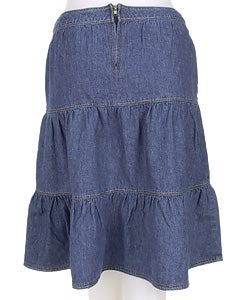 Denim skirts juniors knee length | Global trend skirt blog