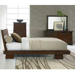 Hida Oak Queen-size Bed
