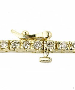14k Gold 2ct Diamond Tennis Bracelet (K, SI)