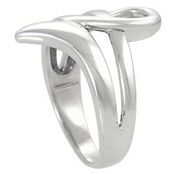 Tressa Sterling Silver Ribbon Ring