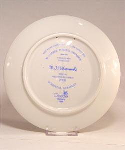 Hummel Star Gazer 2000 Millennium Plate