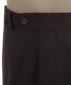 Louis Raphael Men's Chocolate Dress Pants