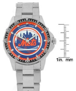 New York Mets MLB Men's Coach Watch