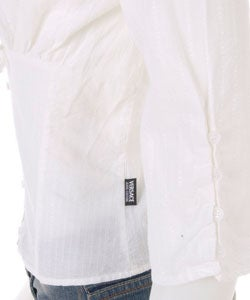 Versace White V-Neck Shirt