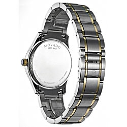 Movado Gentry Men's Two-tone Watch