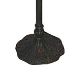 Tiffany-style Baroque Floor Lamp