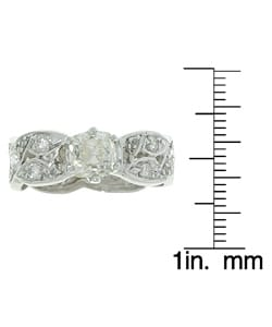 14k Gold 2ct Old Mine Diamond Ring