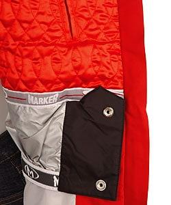 Marker Women's Barbie Red Insulated Ski Jacket