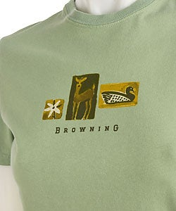 Browning Women's Wildlife Print Cotton T-shirt
