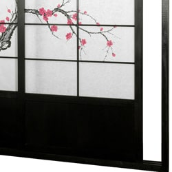 Cherry Blossom Shoji Sliding Door Kit (China)