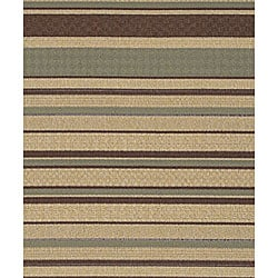 Cafe Series Stripe Indoor/Outdoor Rug (8'9 x 12'9)