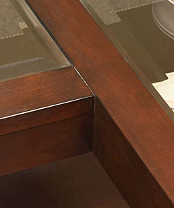 L-shaped Contemporary Accent Table