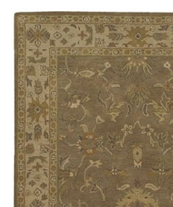 Hand-tufted Camelot Collection Wool Rug (4' x 6')