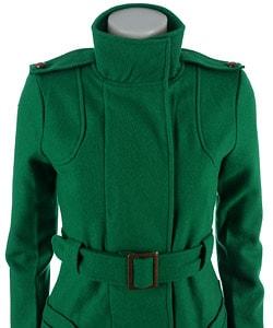 BB Dakota Wool Trench Coat