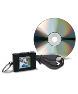 The Sharper Image Digital Photo Album Keychain