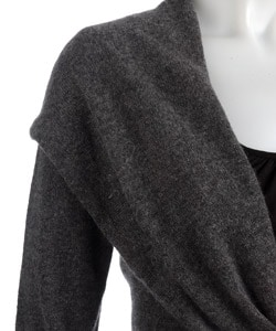 Sisters Cashmere Front Tie Sweater